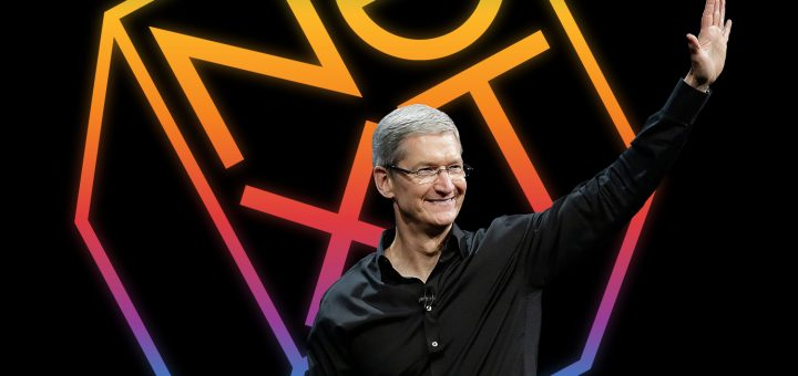 Tim Cook NeXT Logo