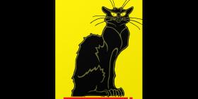 Ferrari Logo with Le Chat Noir