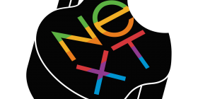 Apple Next Logo Mashup
