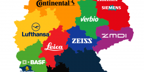 German Brand Map