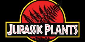 Jurassic Park Logo with Fern